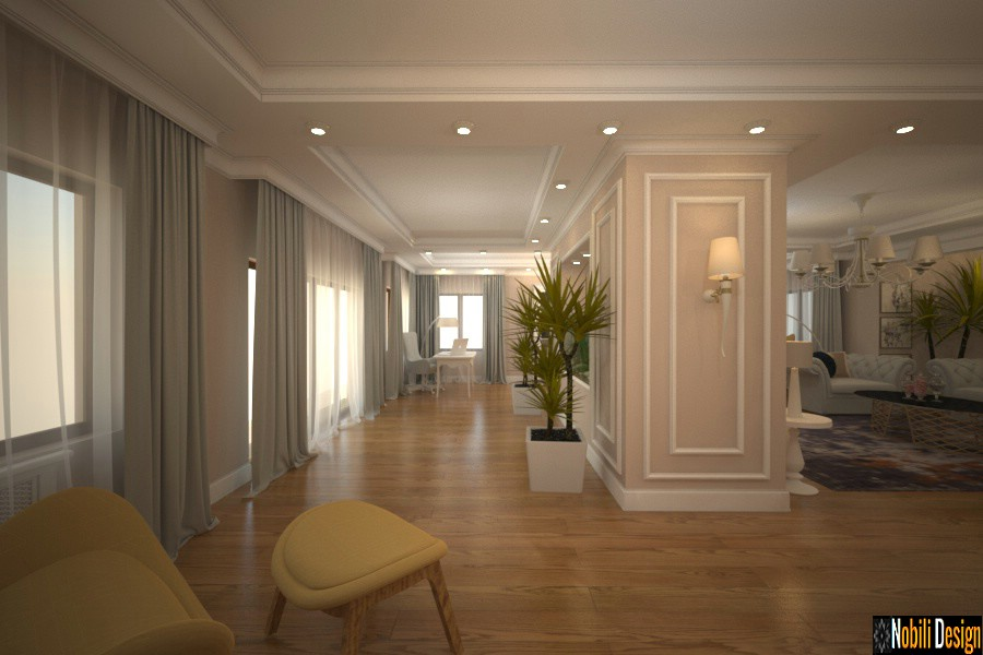 Design interior vile de lux Bucuresti - Design interior casa clasica in Bucuresti