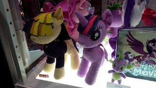 Exclusive Songbird Serenade MLP The Movie Plush Shown at SDCC