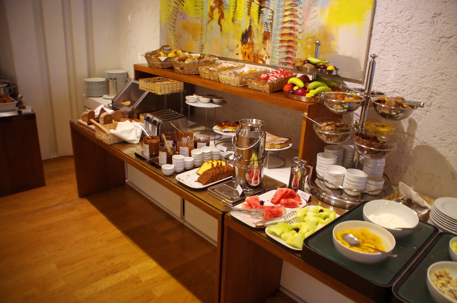 The Herodion Hotel Breakfast Buffet