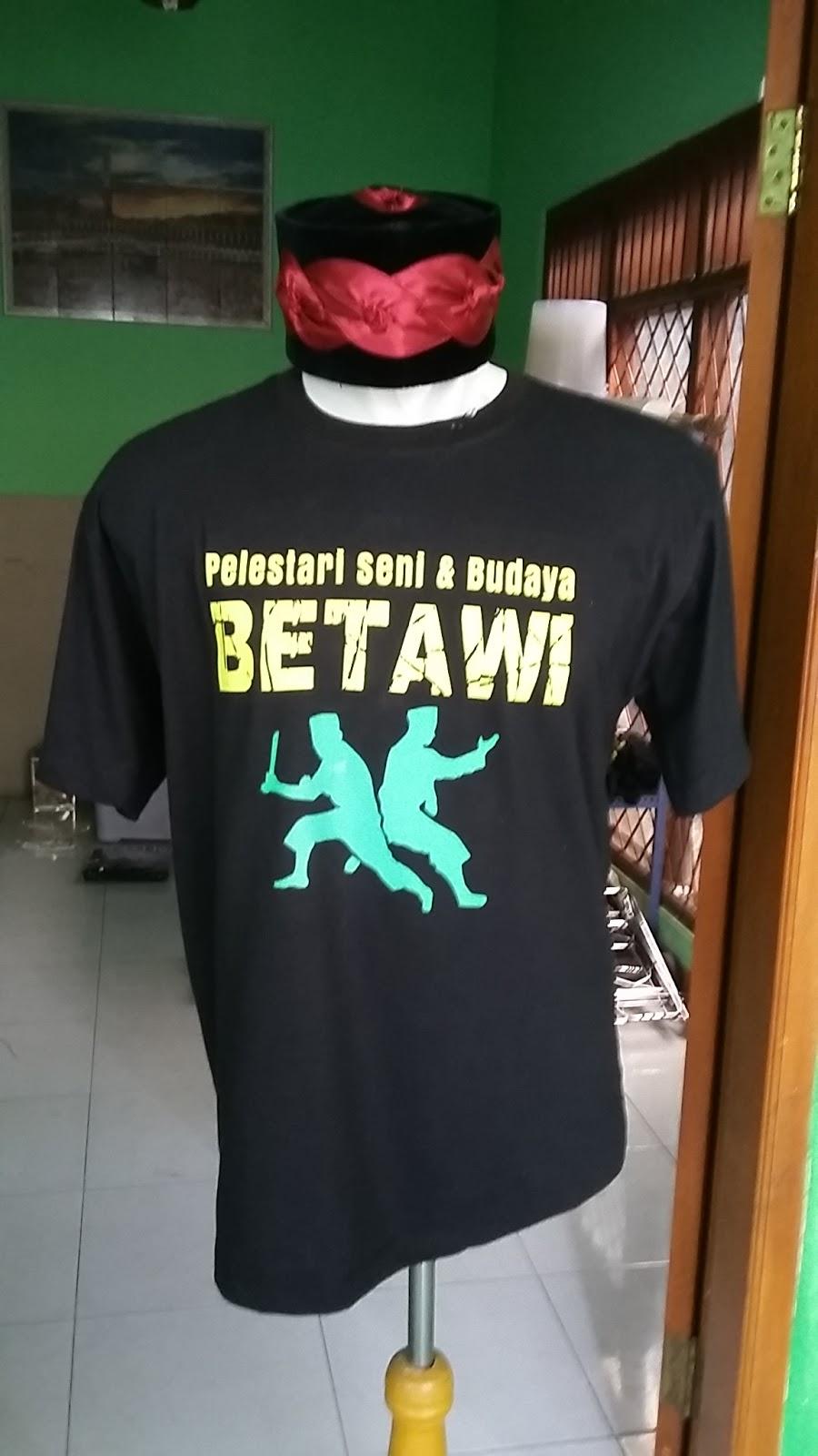 Distro Orang Betawi Bekasi Kaos Bahasa Betawi Bekasi