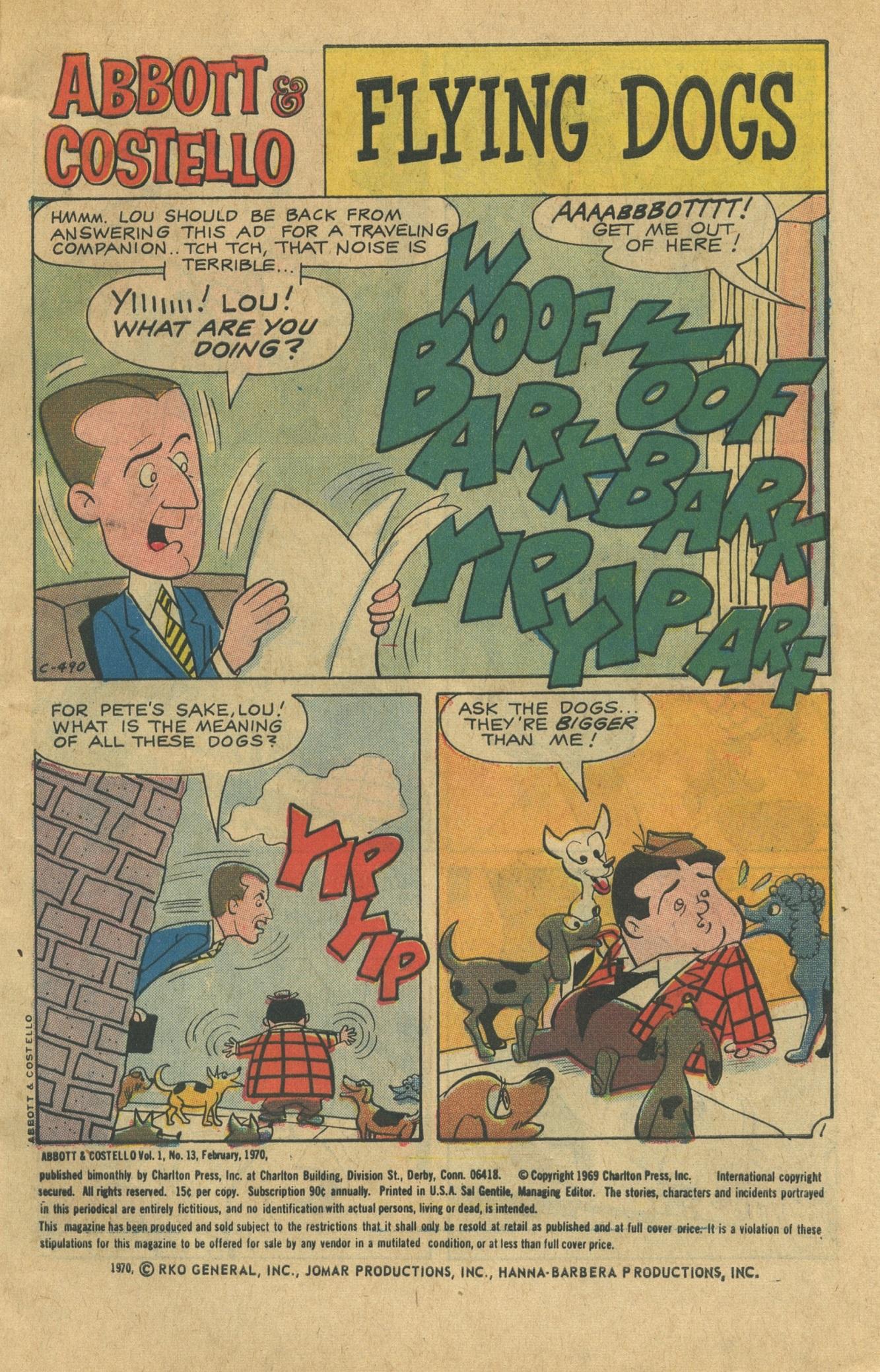 Abbott & Costello issue 13 - Page 3