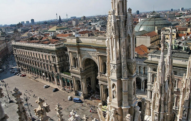 Atrativos no Palácio Real em Milão