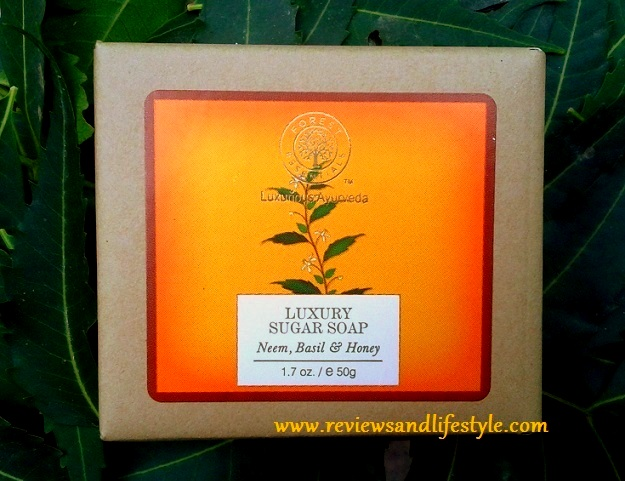 Forest Essentials Neem, Basil and Honey Luxury Sugar Soap Review