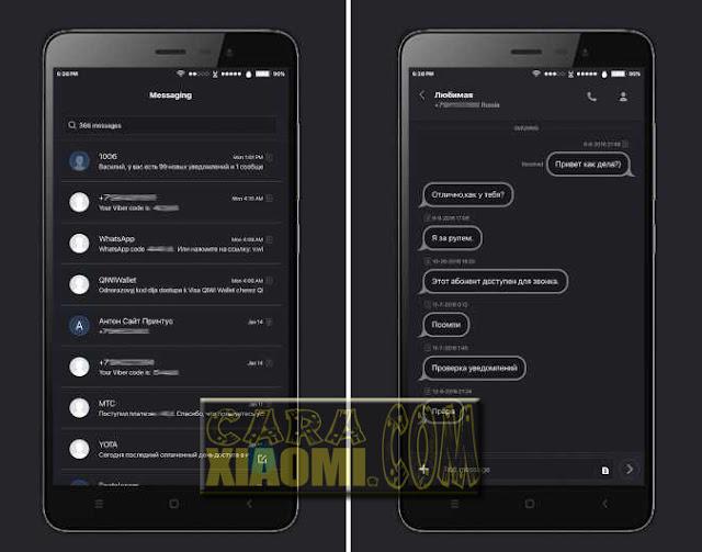 Link Download MIUI Theme iOS Black Update Terbaru For Xiaomi