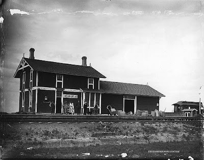 Image result for Indian Head train station Van Horne image