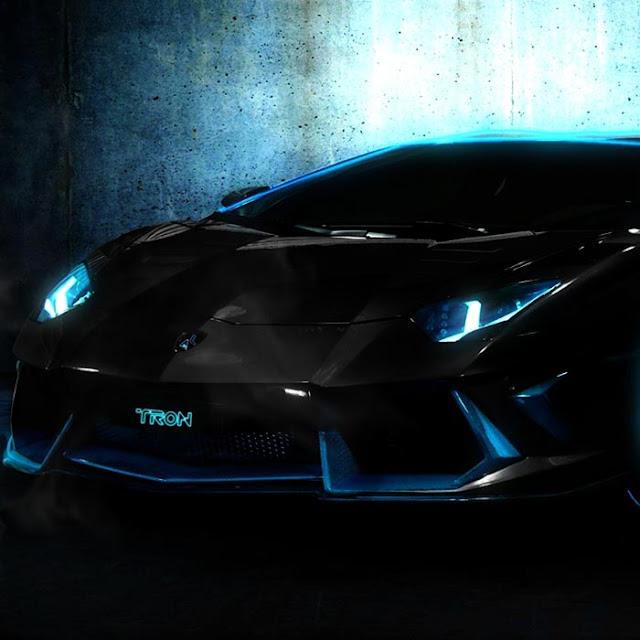 Lamborghini Tron Wallpaper Engine