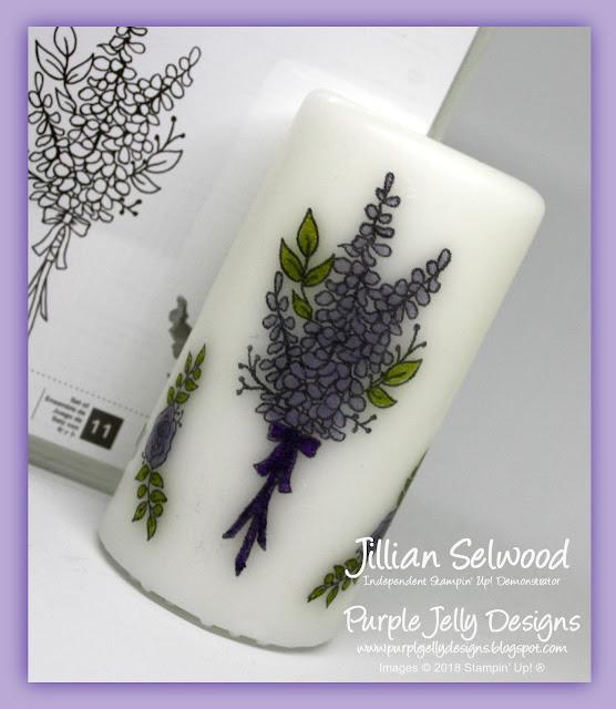 Sale-A-Bration Lots of Lavender Stamp Set, Wisteria Wonder