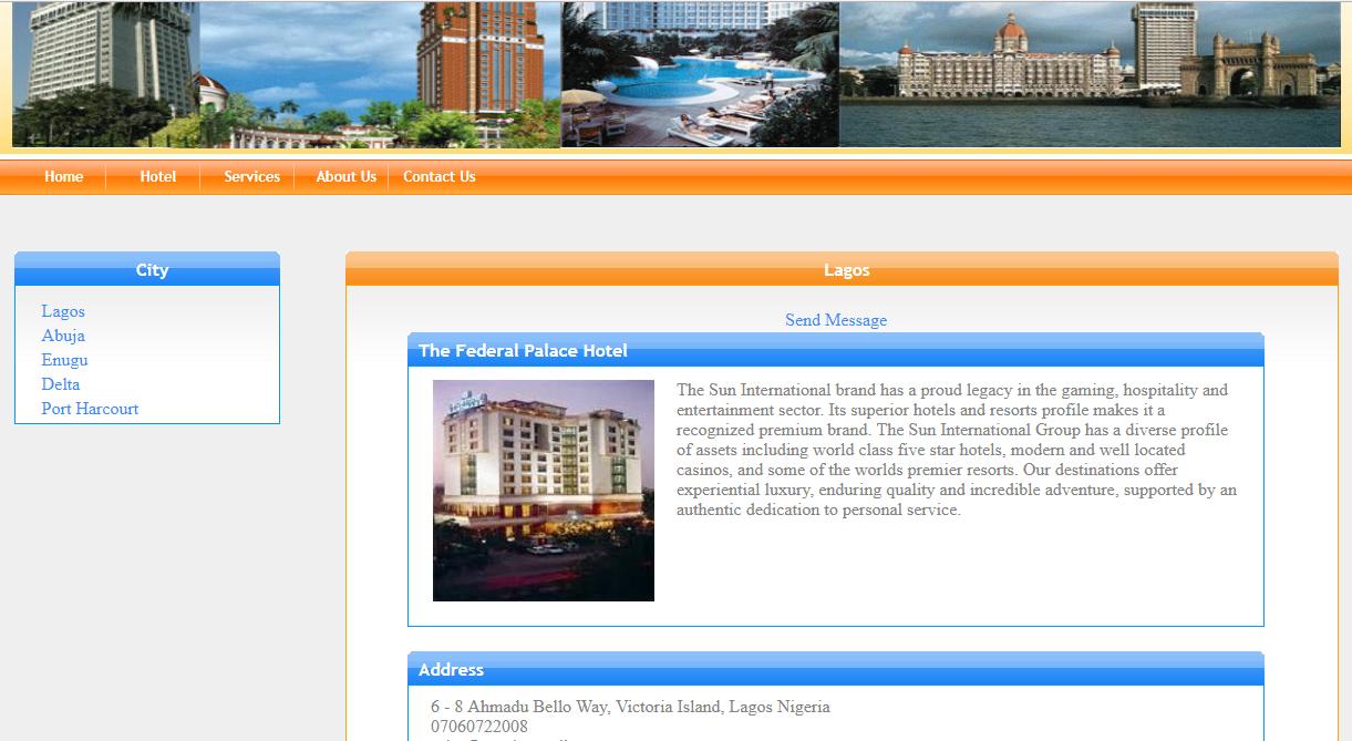 ONLINE HOTEL RESERVATION MANAGEMENT SYSTEM ASP NET C#
