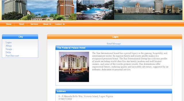 ONLINE HOTEL RESERVATION MANAGEMENT SYSTEM ASP.NET C# PROJECT SOURCE CODE