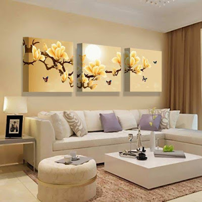 3d modular painting for wall art design, how to make modular painting