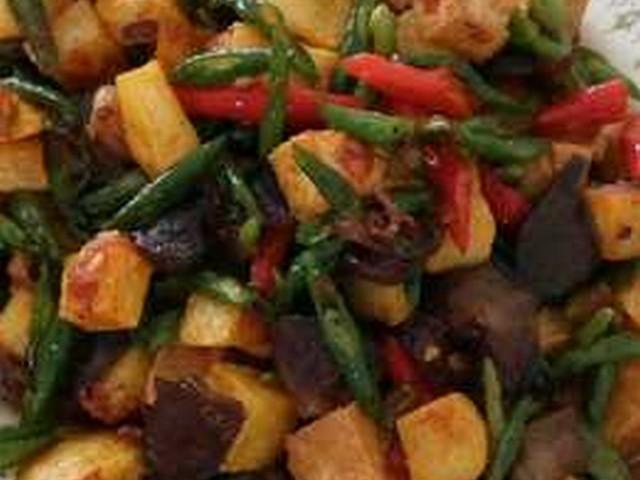 sambal goreng cecek kentang