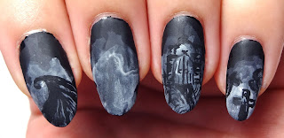 Nightmare Graveyard Nails