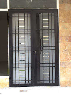 10 Model Terbaru Teralis pintu Minimalis Inspiratip Rumah Masa Kini 8