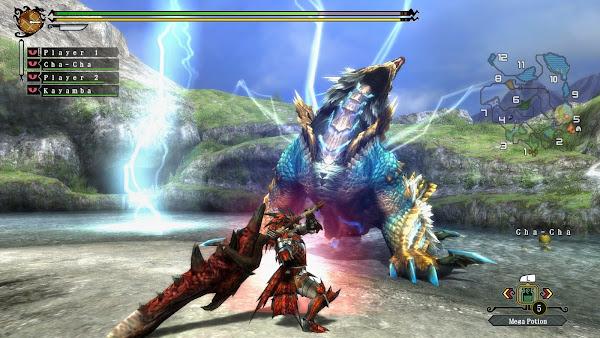 Monster Hunter 3 Ultimate + Update Wii U ROM Screenshots #3