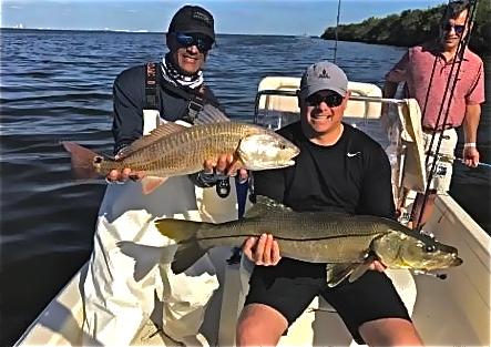 Happy Redfish Anglers