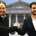 Una alianza entre Podemos e IU se convertiría en la segunda fuerza más votada