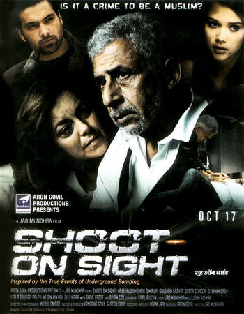 Poster Of Shoot on Sight 2007 Dual Audio 720p BRRip [Hindi - English] Free Download Watch Online
