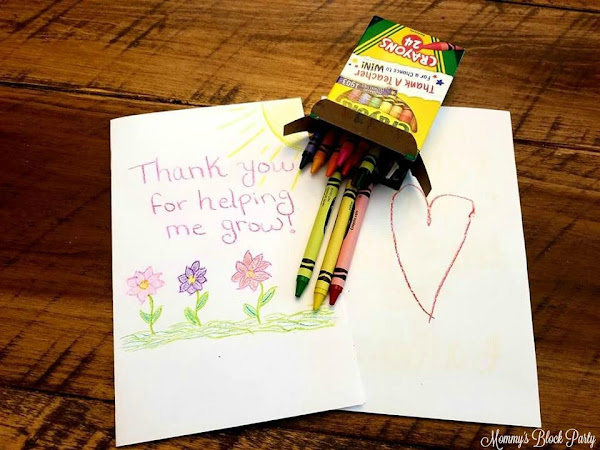 Thank a Teacher for Your Chance to Win Prizes from Crayola! #ThankATeacher