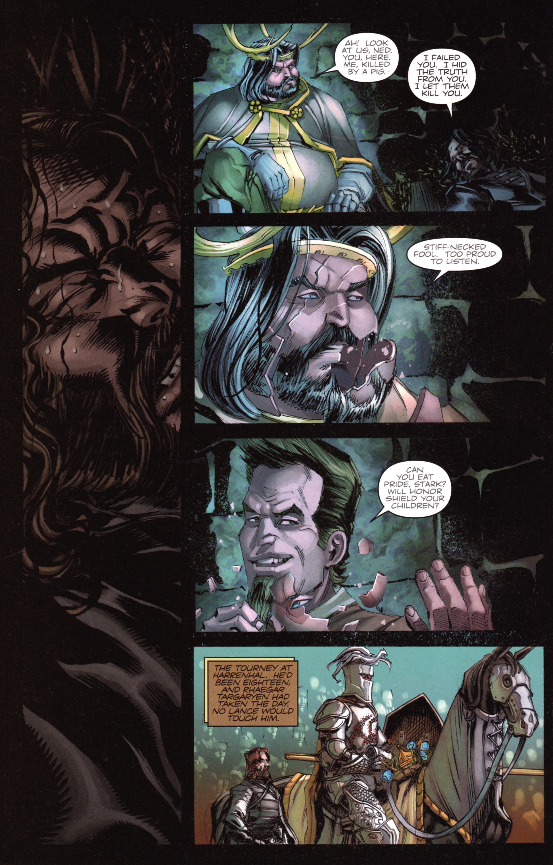 Read online A Game Of Thrones comic -  Issue #18 - 26