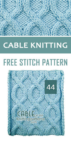 Cable Knitting Free Stitch Pattern 44