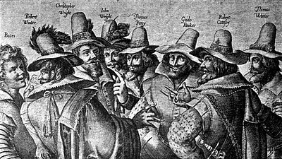 Guy Fawkes and The Gunpowder Plot Conspirators