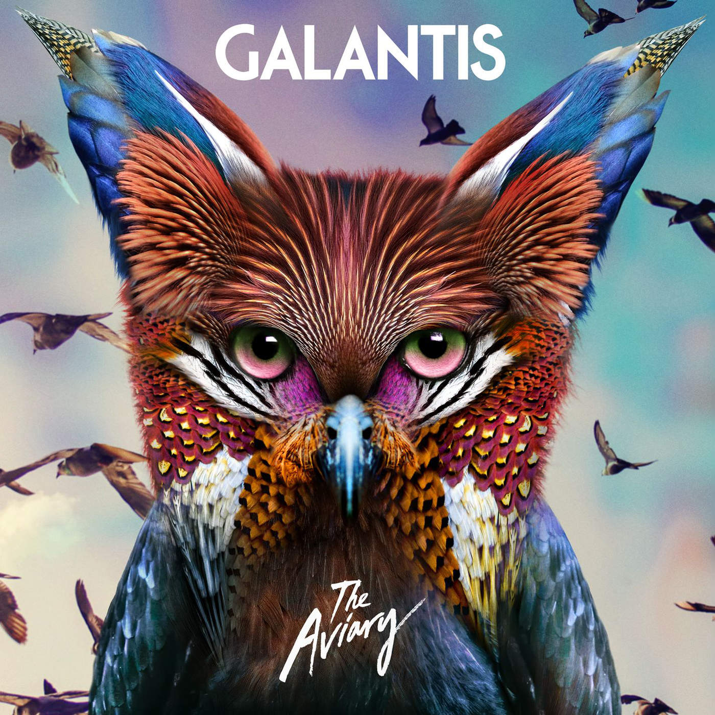 Galantis - The Aviary Cover