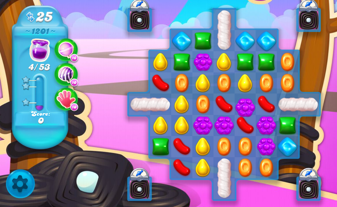 Candy Crush Soda Saga level 1201