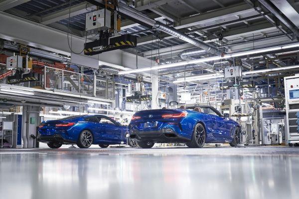 Έναρξη παραγωγής στο Dingolfing: Η πρώτη BMW Σειρά 8 Cabrio πέρασε από τη γραμμή παραγωγής