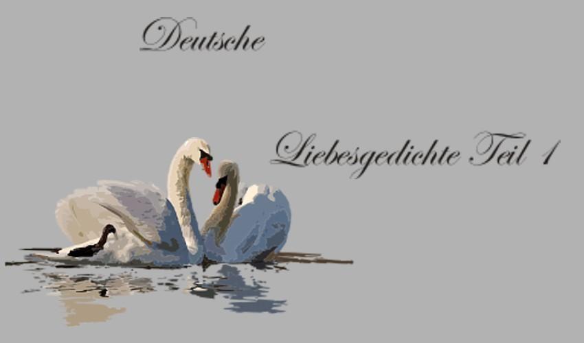 Gedichte Und Zitate Fur Alle Gedichte Der Deutschen Liebeslyrik