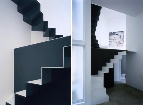 Escaleras minimalistas