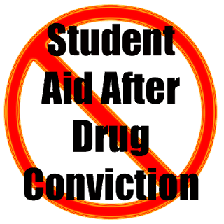 FAFSA No Student Aid After Drug Conviction