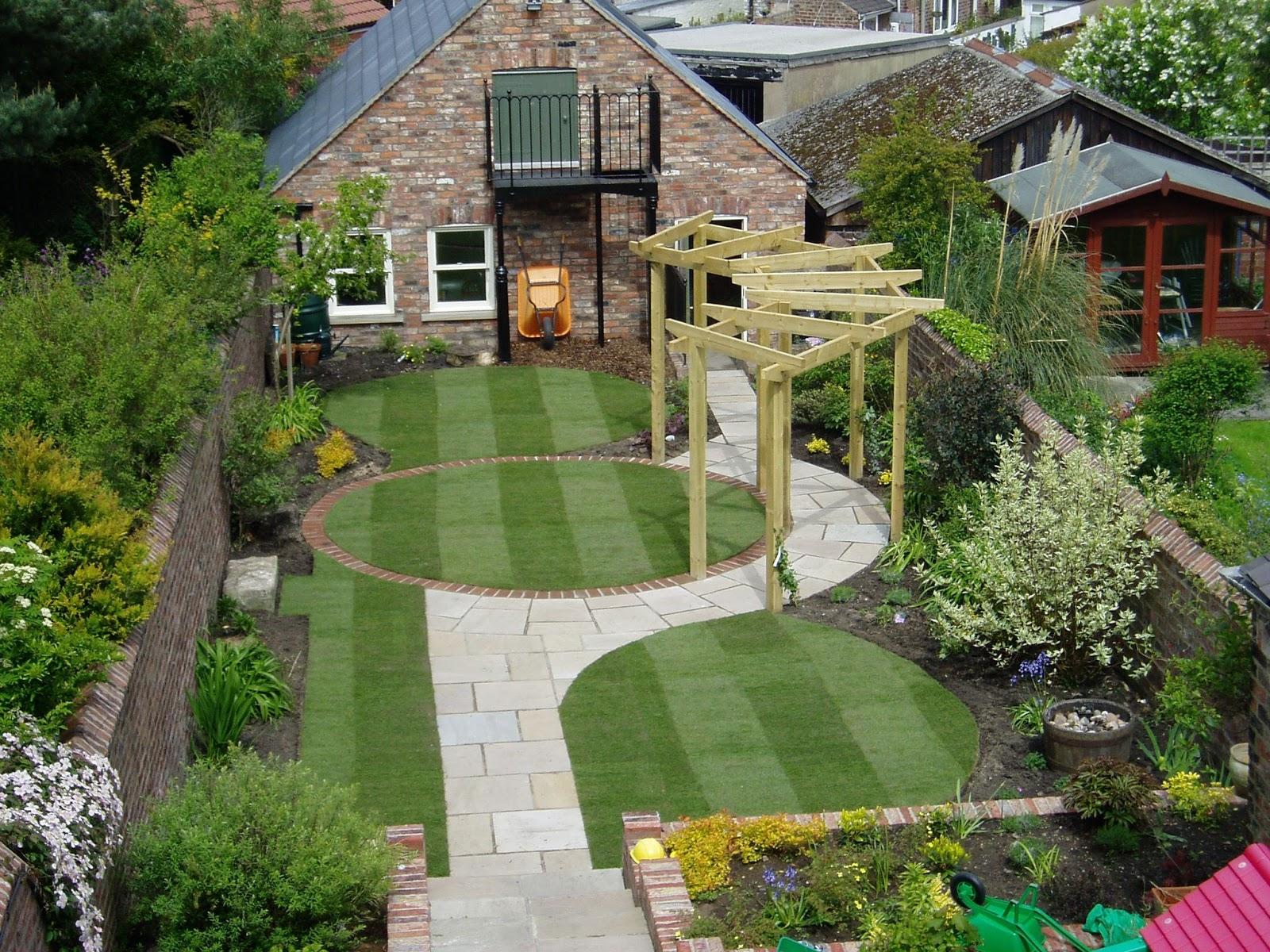 Contoh Karya Desain Taman Minimalis Dalam Rumah Terbaik