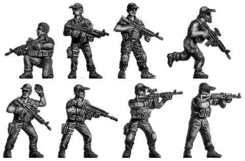 Wargame News and Terrain: Eureka Miniatures: Modern