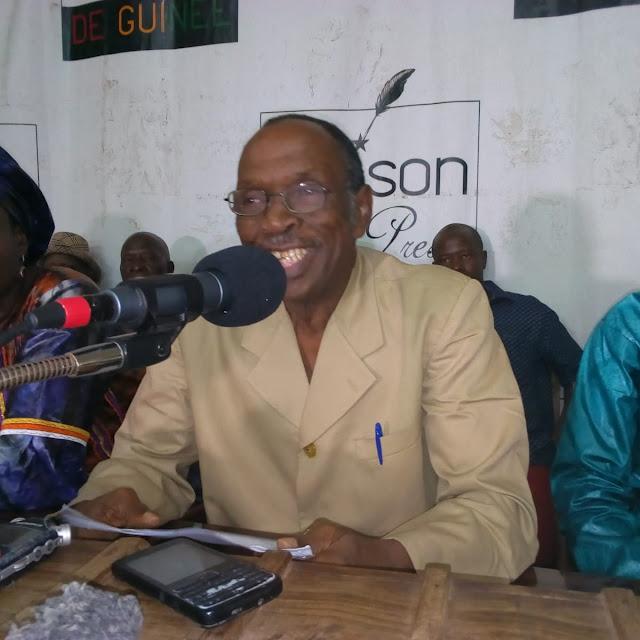 , le secrétaire général adjoint du SLECG version Cie Savané, El hadj Ousmane Tanou Baldé