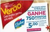 Participar da promoção Verão Clube Extra 2015