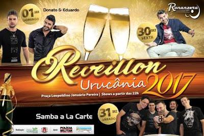 réveillon em Urucânia-mg grande festa