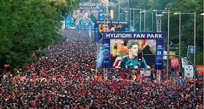 La Hyundai Fan Park