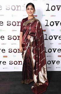 Mrunal Thakur At Love Sonia Movie Premiere in London