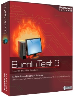 PassMark BurnInTest Pro 8.1 Build 1024 poster box cover