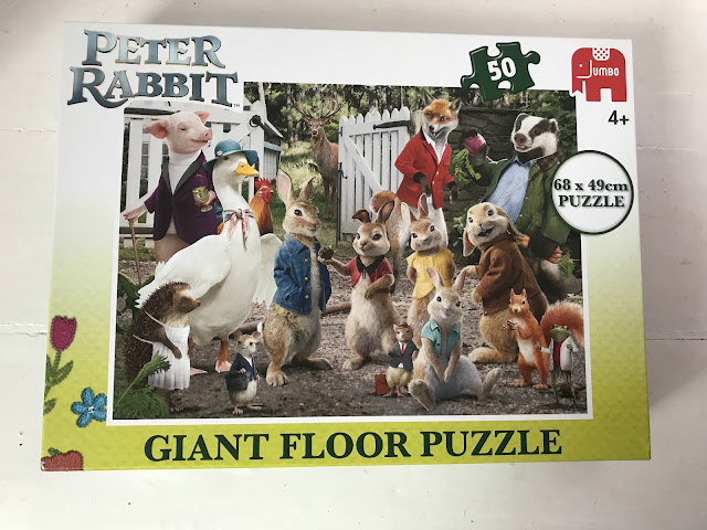 peter rabbit the movie giant floor puzzle jigsaw in box