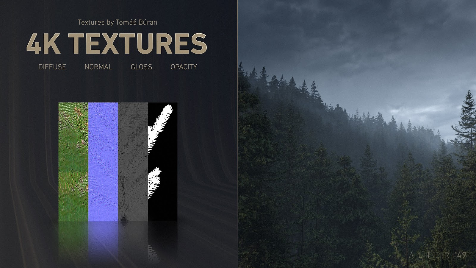 Free Forest Bundle Model Of Tree With 4k Texture Computer