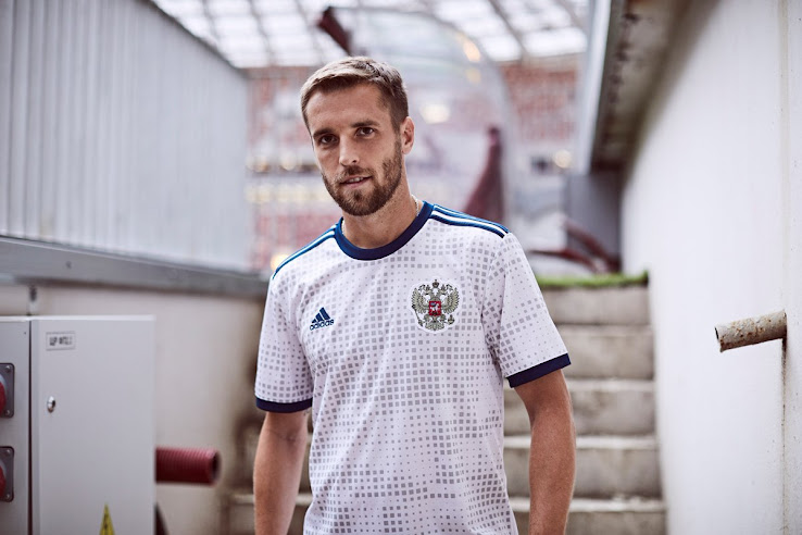 7427f2bb182 Russia 2018 World Cup Away Kit Released - Footy Headlines