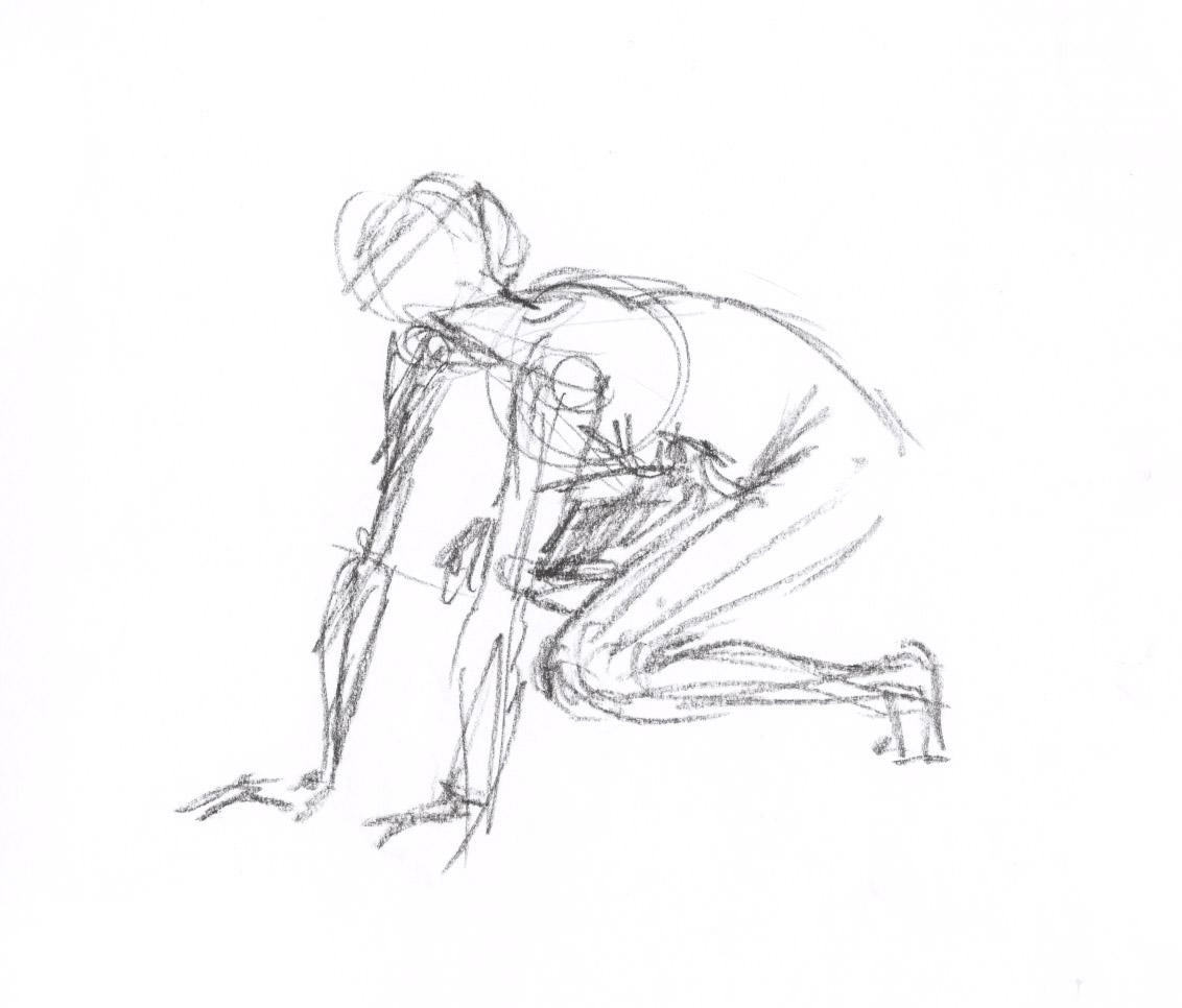 Bianca Meier: life drawing class