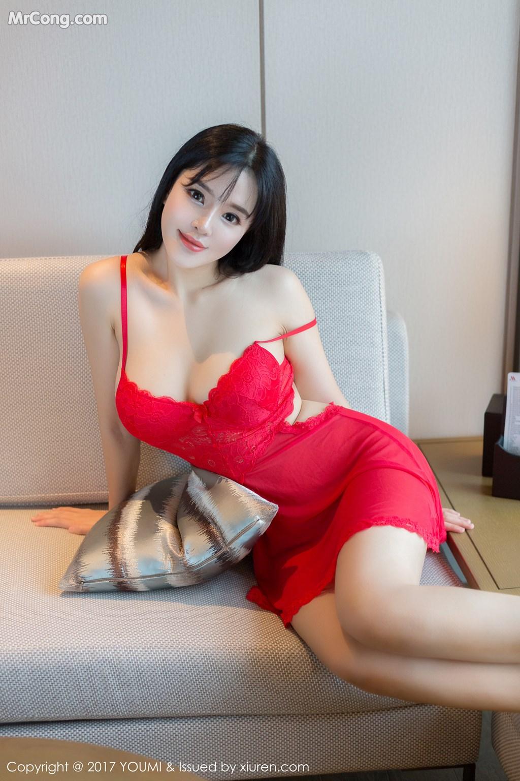 Image YouMi-Vol.064-Liu-Yu-Er-MrCong.com-003 in post YouMi Vol.064: Người mẫu Liu Yu Er (刘钰儿) (46 ảnh)