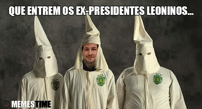 Memes Time - A Comissão de Audição dos ex-presidentes leoninos para Bruno de Carvalho – Que entrem os Ex-Presidentes Leoninos…