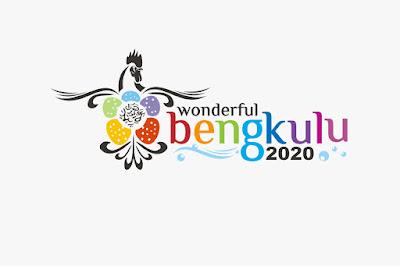 Ayam Borgo dan Bunga Raflesia Logo Visit 2020 Wonderful Bengkulu