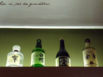 Botellas-sake