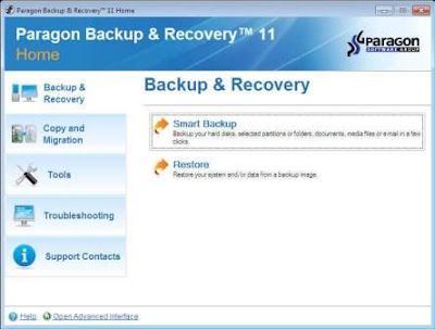 Paragon Backup & Recovery 11
