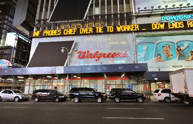 Farmácia Walgreens em Nova York