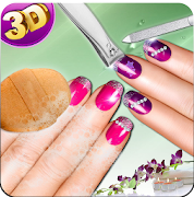 3d Nail Art Manicure Nail Salon Games For Girls Game Crack Tips